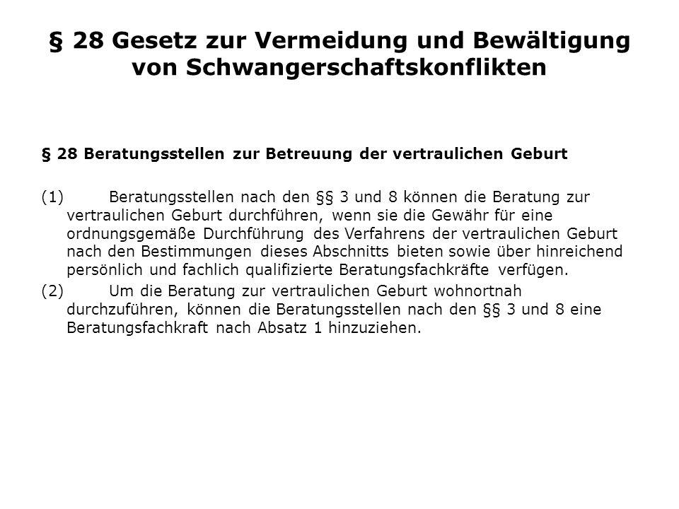 Zahlen zu Fragen der anonymen Geburt Im Zeitraum von 2000 bis Mitte 2010 wurden in Deutschland 973 Kinder anonym abgegeben.