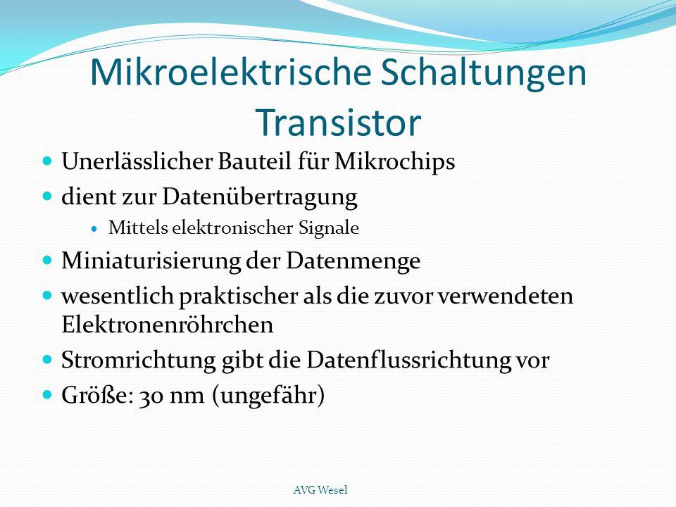 Mikroelektrische Schaltungen Transistor Unerlässlicher Bauteil für Mikrochips dient zur Datenübertragung Mittels elektronischer Signale Miniaturisieru