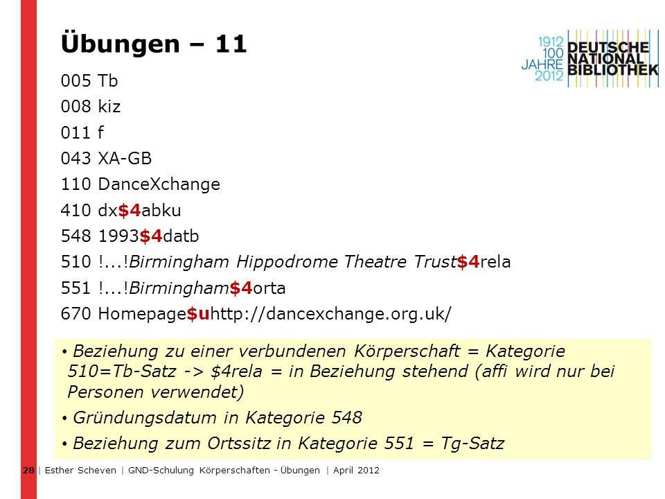 Übungen – 11 005 Tb 008 kiz 011 f 043 XA-GB 110 DanceXchange 410 dx$4abku 548 1993$4datb 510 !...!Birmingham Hippodrome Theatre Trust$4rela 551 !...!B