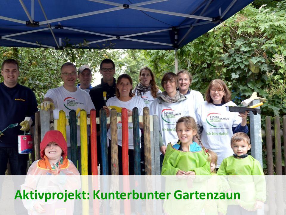 Aktivprojekt: Kunterbunter Gartenzaun