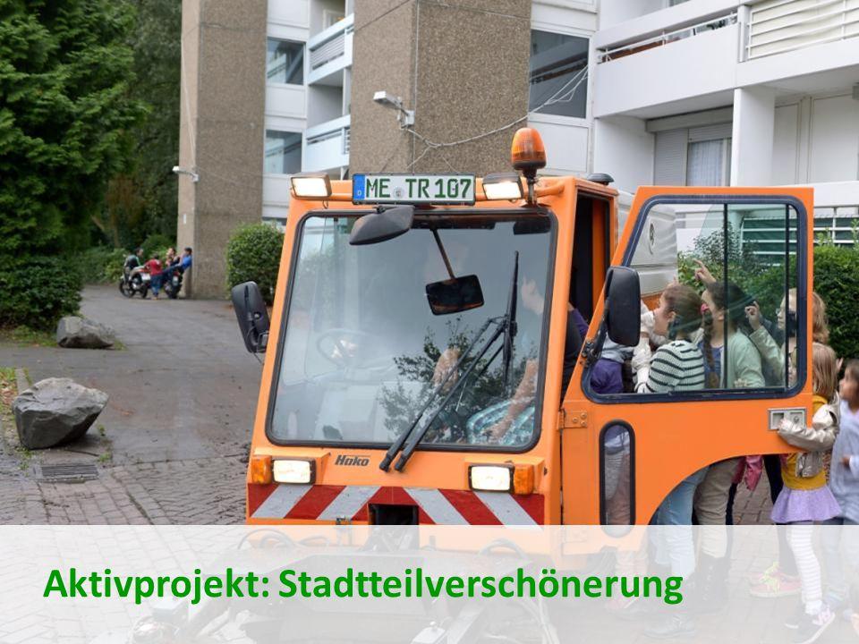 Aktivprojekt: Stadtteilverschönerung