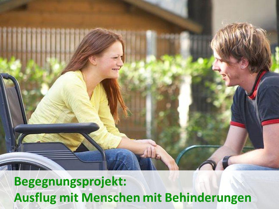 Begegnungsprojekt: Ausflug mit Menschen mit Behinderungen