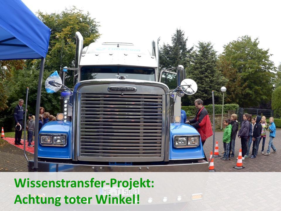 Wissenstransfer-Projekt: Achtung toter Winkel!
