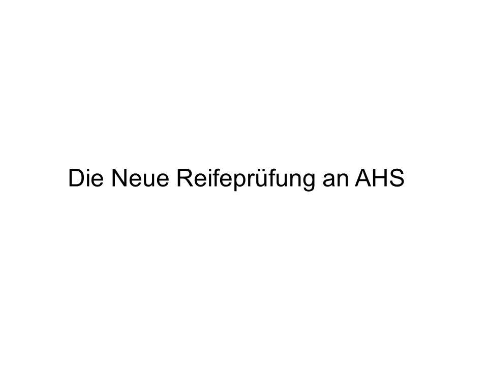 """""""Drei-Säulen-Modell Vorwissenschaftliche Arbeit (VWA) Schriftliche Reifeprüfung Mündliche Reifeprüfung"""