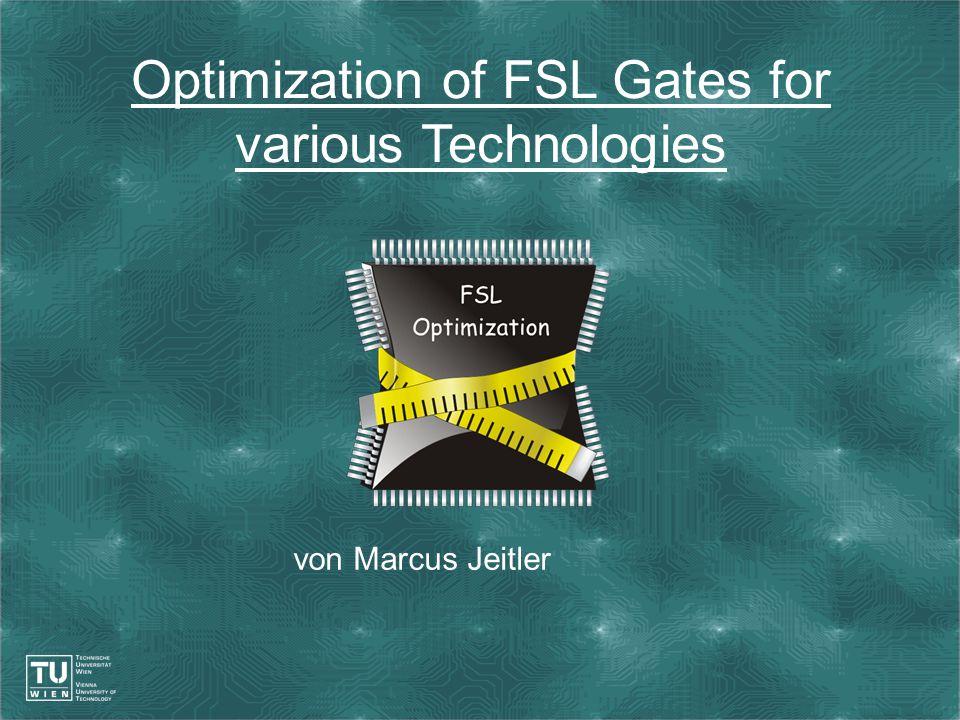 2 Überblick Optimierung: Problematik und Strategien (allgemein) Optimierung: Problematik und Strategien am Beispiel eines AND Gates (untersucht für FPGA, CMOS und NMOS-Passtransistorlogik) Zusammenfassung