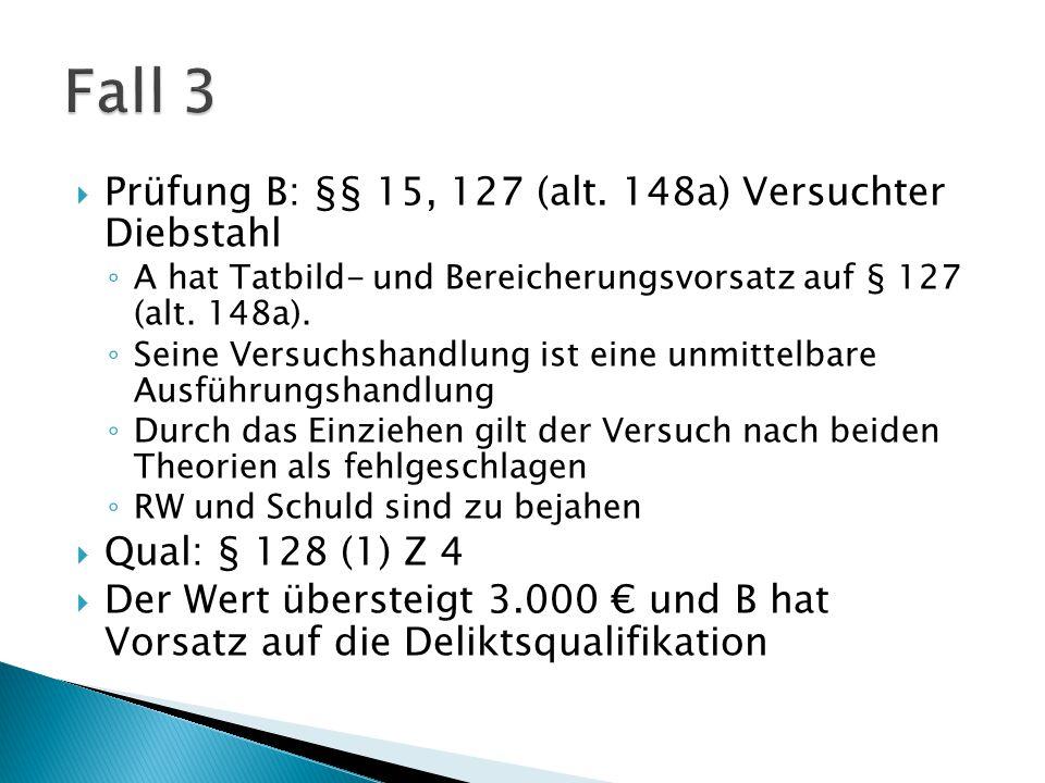  Prüfung C: § 83 (1), 84 (1) Schw.KV ◦ C erfüllt den obj.