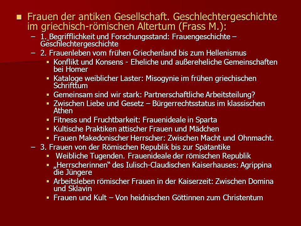 Forschungsüberblick-Frauen Große Frauengestalten/19.Jh.