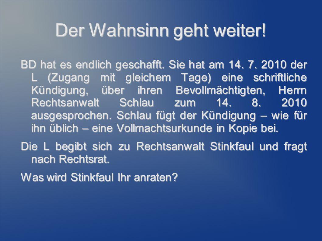 """Begründung des Arbeitsverhältnisses Übungsfall 1: """"A bewirbt sich aufgrund einer Stellenanzeige der B-GmbH (ohne Betriebsrat)."""