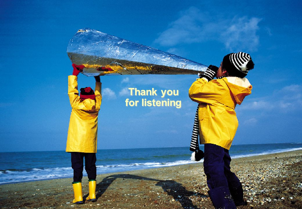38 Operations Development Thank you for listening