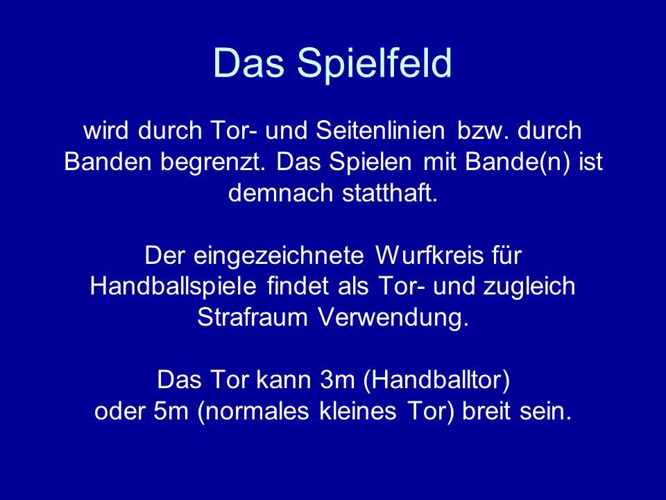 Hallenregeln Saison 2006/2007