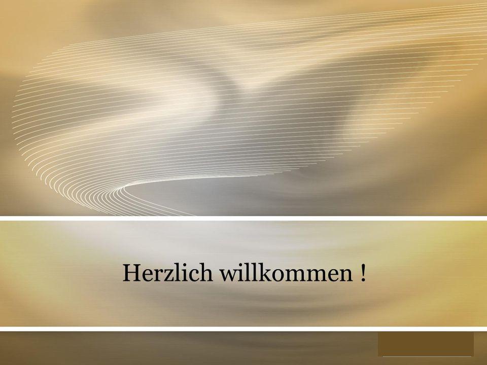 YOUR LOGO Herzlich willkommen !