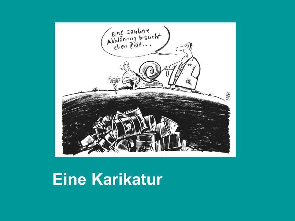Eine Karikatur