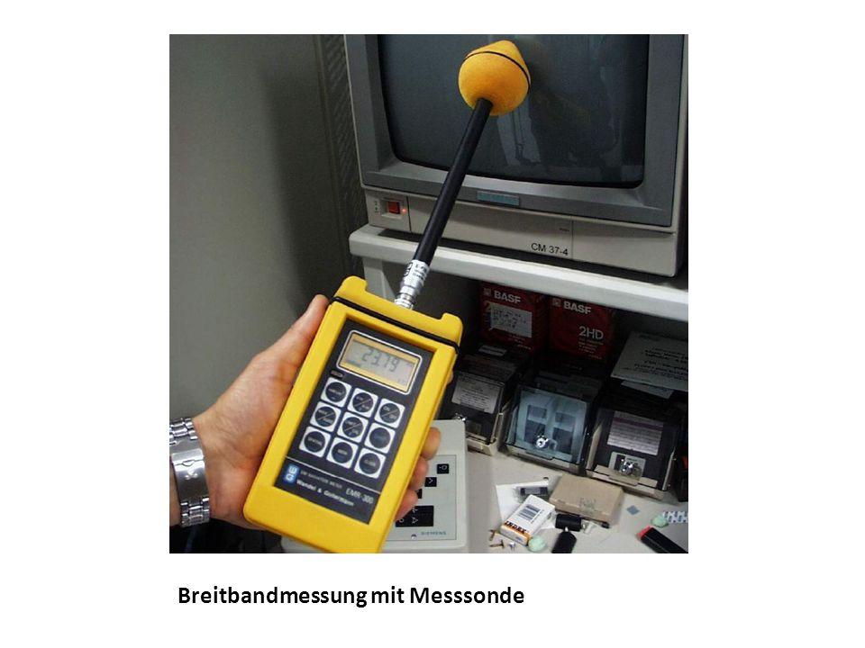 Frequenzselektive Messung mit Spektrumsanalysator