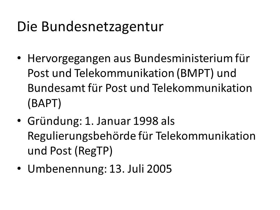 Verwaltungssitz der Bundesnetzagentur in Bonn