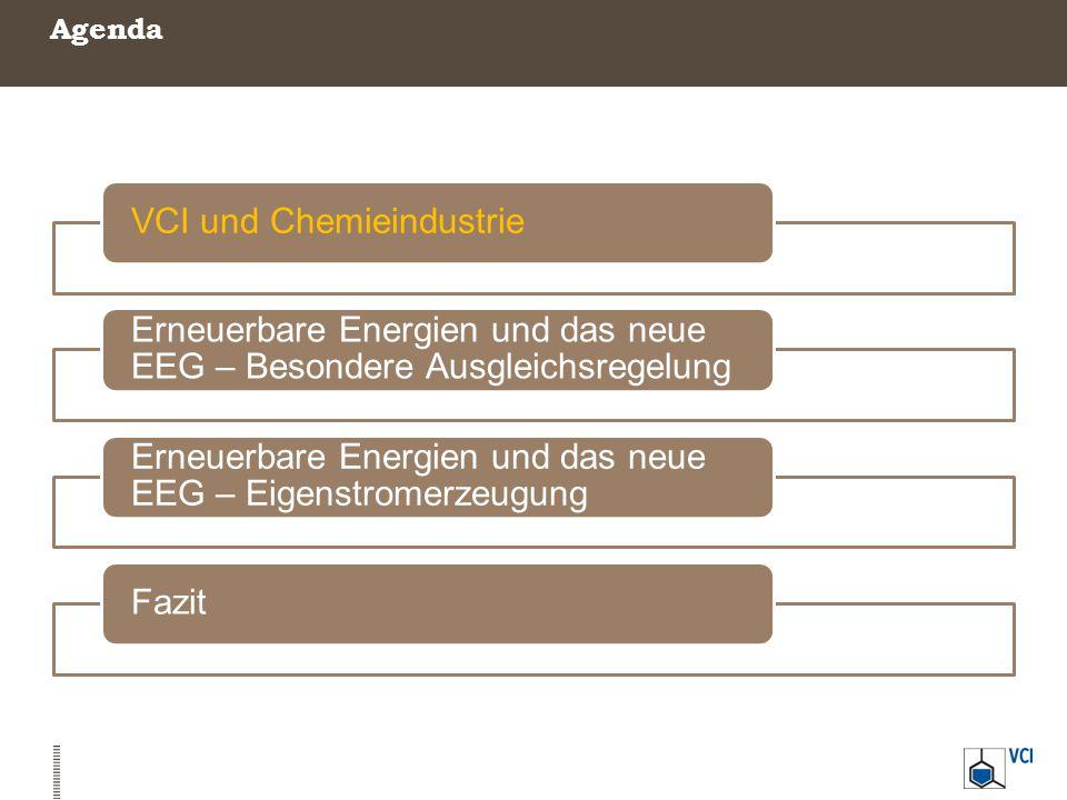 Verband der Chemischen Industrie - Kennzahlen 1.660 Mitgliedsunternehmen aus Chemie und Pharma 190 Milliarden Umsatz 2013 440.000 Mitarbeiter Die größten Industriebranchen in Deutschland: 1.