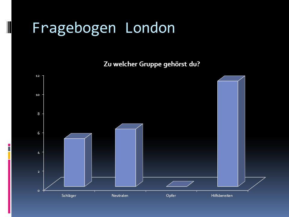 Fragebogen London
