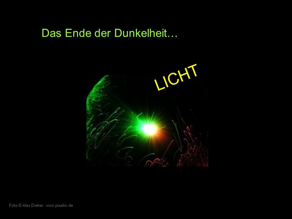 Erfüllt in der Hoffnung …des Scheins. Foto © Bernd Sterzl www.pixelio.de