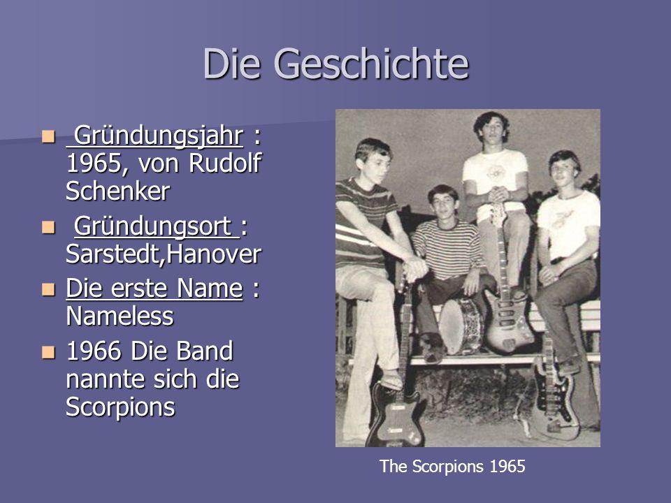 Die Geschichte Gründungsjahr : 1965, von Rudolf Schenker Gründungsjahr : 1965, von Rudolf Schenker Gründungsort : Sarstedt,Hanover Gründungsort : Sars
