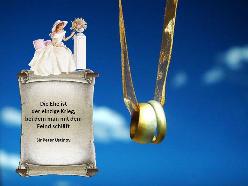 Halte die Augen vor der Ehe offen - dann halb geschlossen Benjamin Franklin