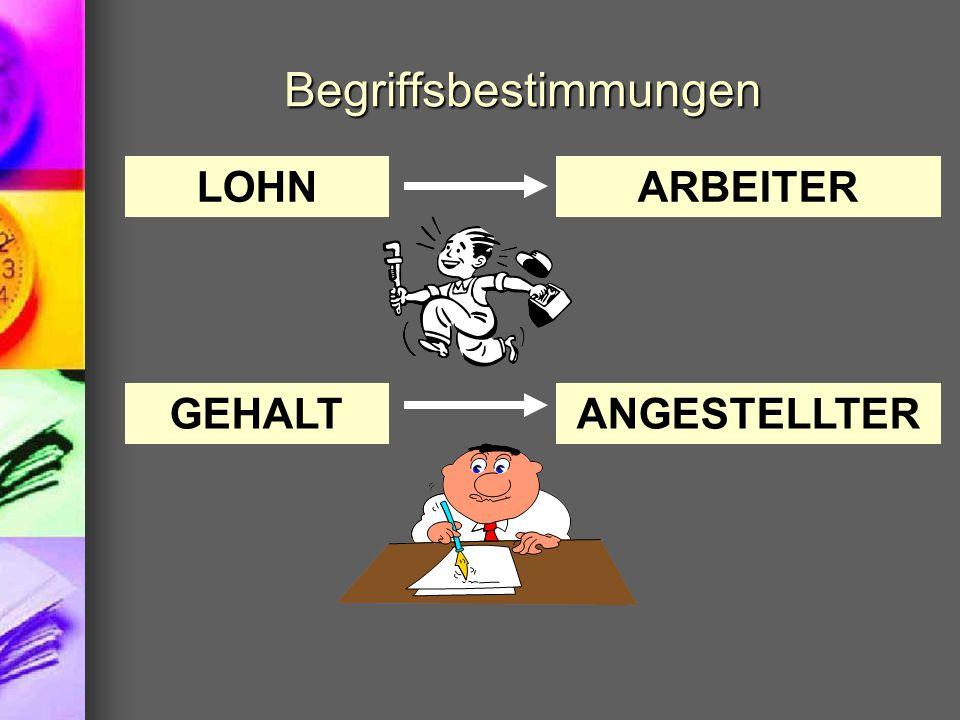 Hilfsmittel der Personalverrechnung Effektiv-Tarif-Tabelle bzw.