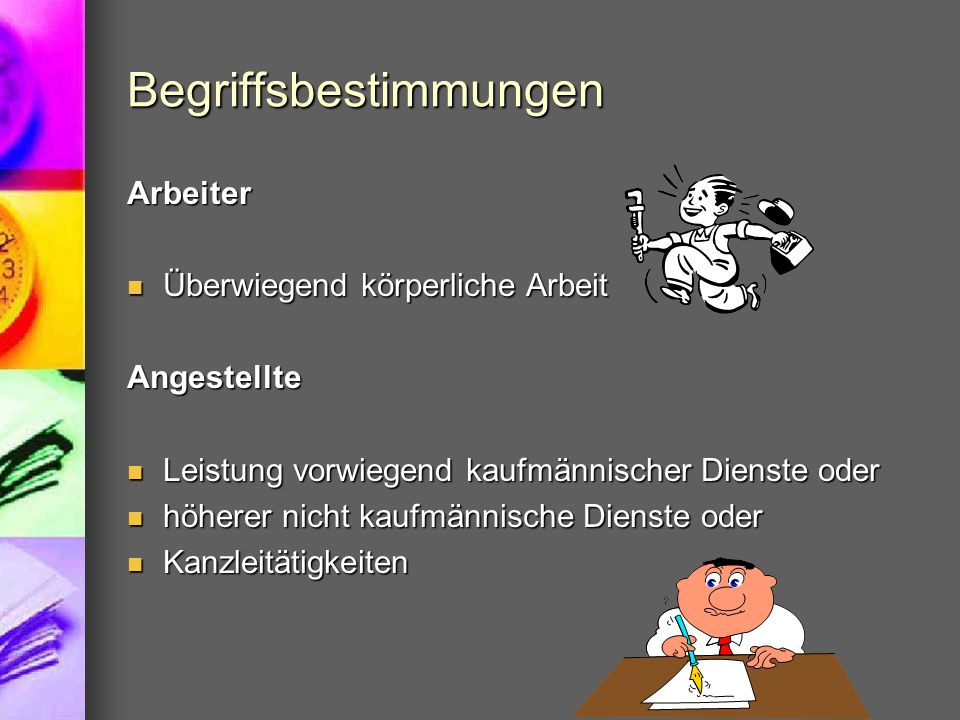 Aufgaben der Personalverrechnung Innerbetriebliche Abrechnung Innerbetriebliche Abrechnung Außerbetriebliche Abrechnung Außerbetriebliche Abrechnung