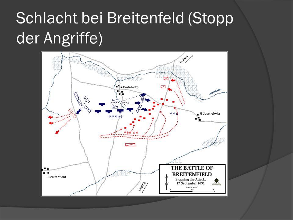 Schlacht bei Breitenfeld (Stopp der Angriffe)