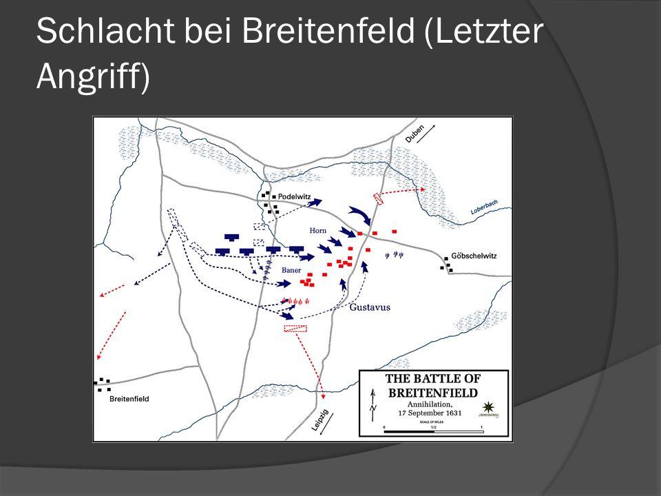 Schlacht bei Breitenfeld (Letzter Angriff)