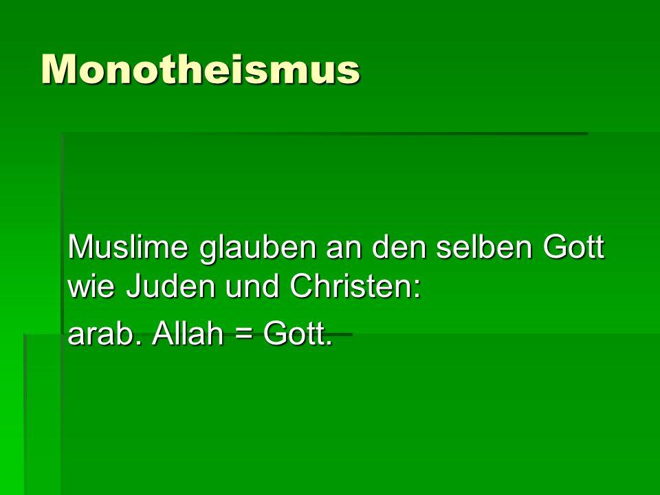 """Naturgesetze und Wunder Die von uns so genannten """"Naturgesetze sind – muslimisch verstanden – """"Gewohnheiten Gottes ."""