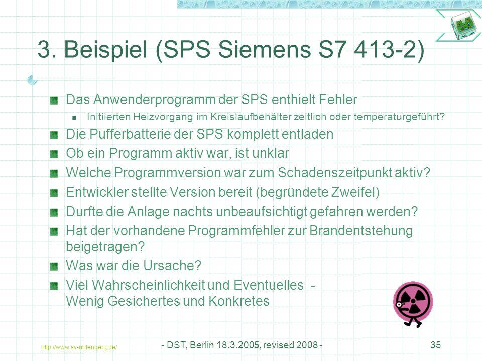 http://www.sv-uhlenberg.de/ - DST, Berlin 18.3.2005, revised 2008 -35 3.