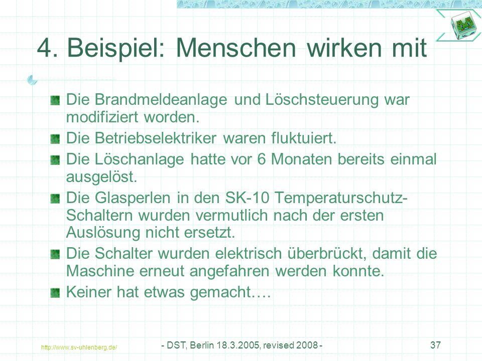 http://www.sv-uhlenberg.de/ - DST, Berlin 18.3.2005, revised 2008 -37 4.