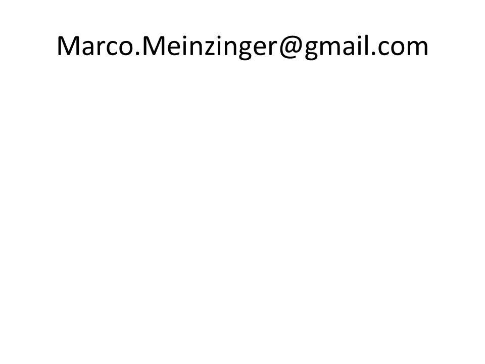 Marco.Meinzinger@gmail.com