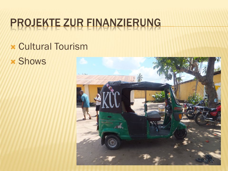  Cultural Tourism  Shows
