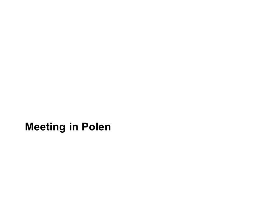 Meeting in Polen