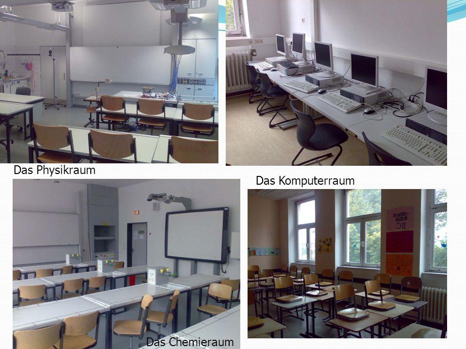 Das Physikraum Das Komputerraum Das Chemieraum
