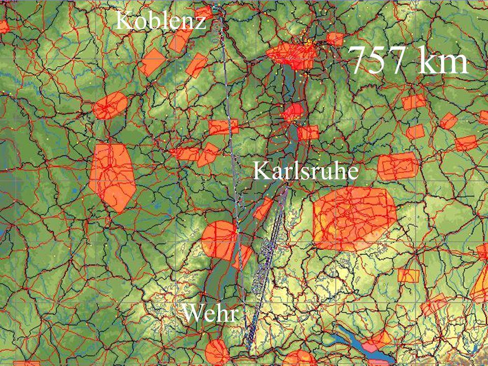 Wehr Koblenz 757 km
