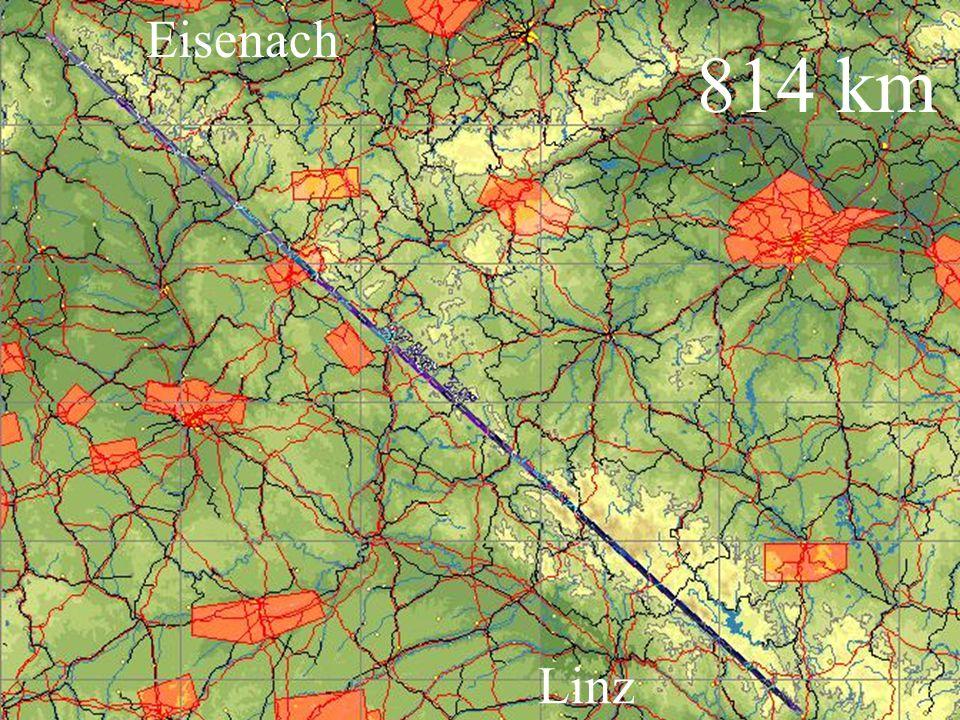 814 km Eisenach Linz