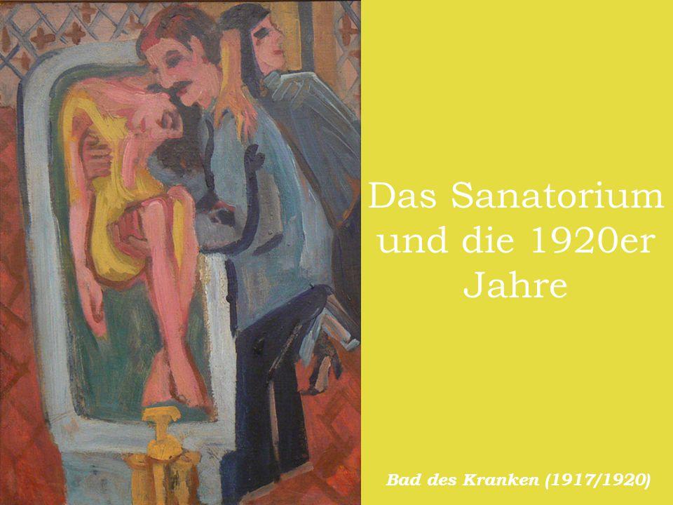 Das Sanatorium und die 1920er Jahre Bad des Kranken (1917/1920)