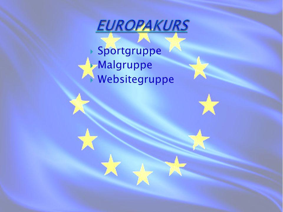  Sportgruppe  Malgruppe  Websitegruppe