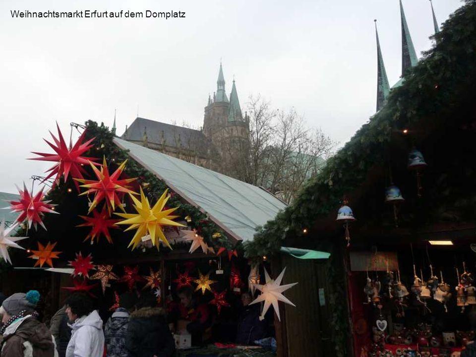 Adventsfahrt Adventsfahrt 2013 01. – 04. Dezember Über Erfurt nach Dresden und ins Erzgebirge