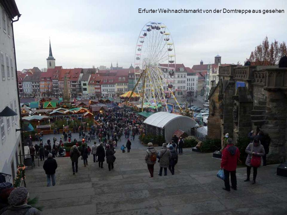 Erfurt, Weihnachtsmarkt am Fischmarkt
