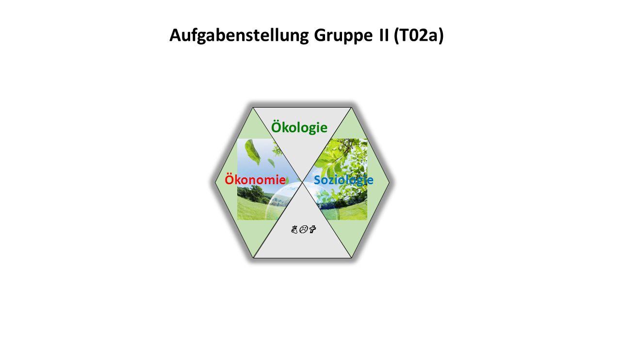 BLV Ökologie Ökonomie Soziologie Aufgabenstellung Gruppe II (T02a)