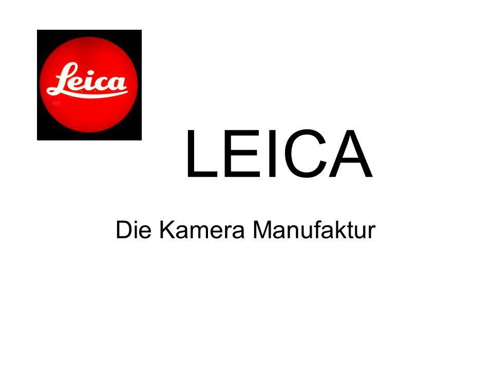 LEICA Die Kamera Manufaktur