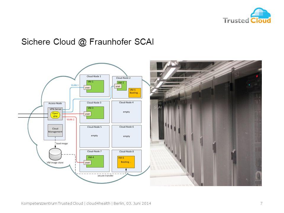 7Kompetenzzentrum Trusted Cloud | cloud4health | Berlin, 03.