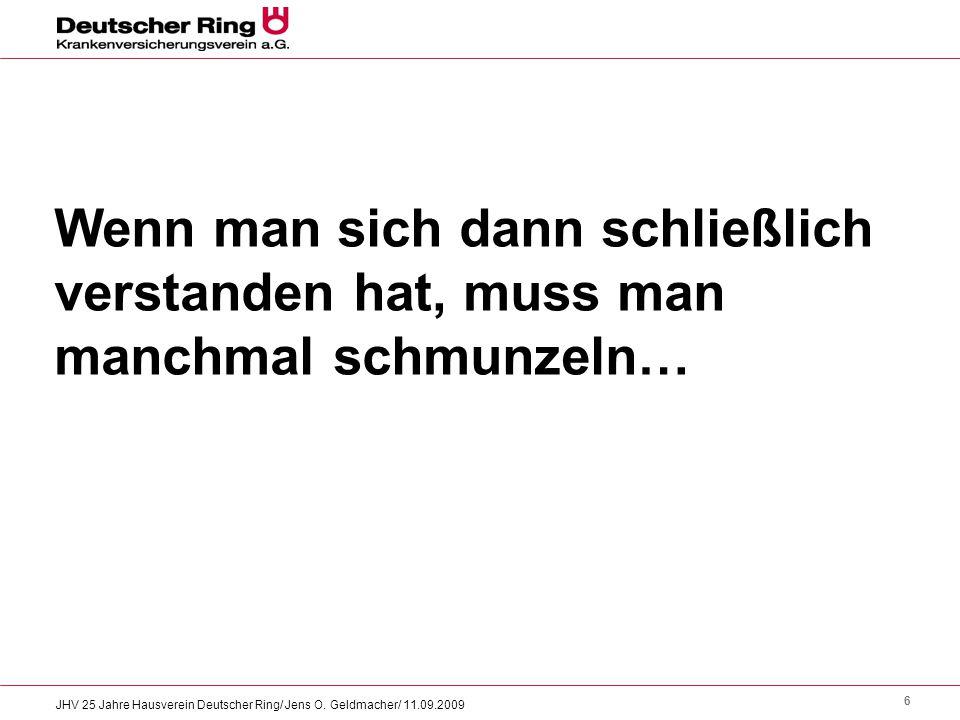 17 JHV 25 Jahre Hausverein Deutscher Ring/ Jens O.
