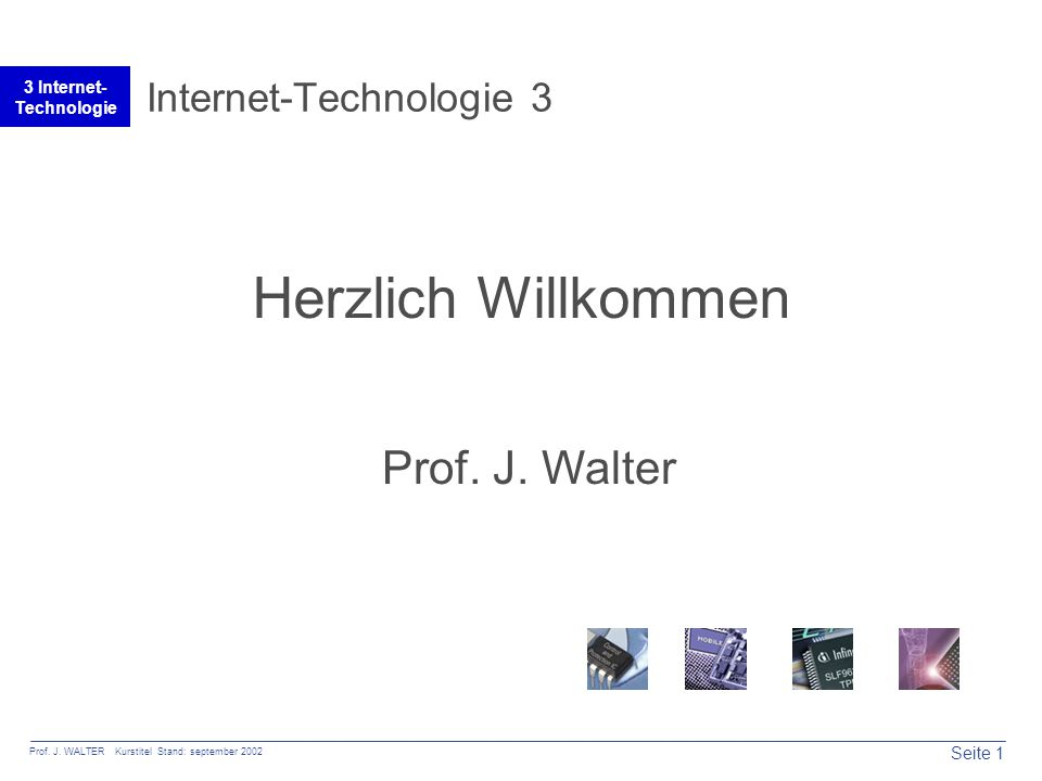 Seite 1 Prof. J.