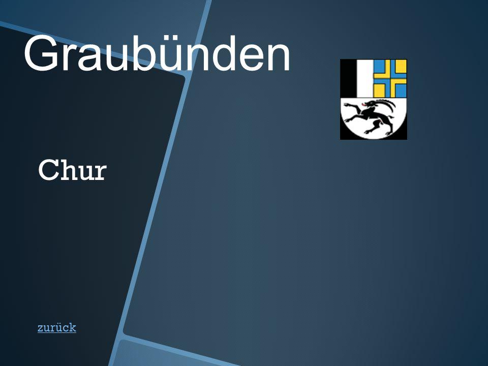 Graubünden zurück Chur