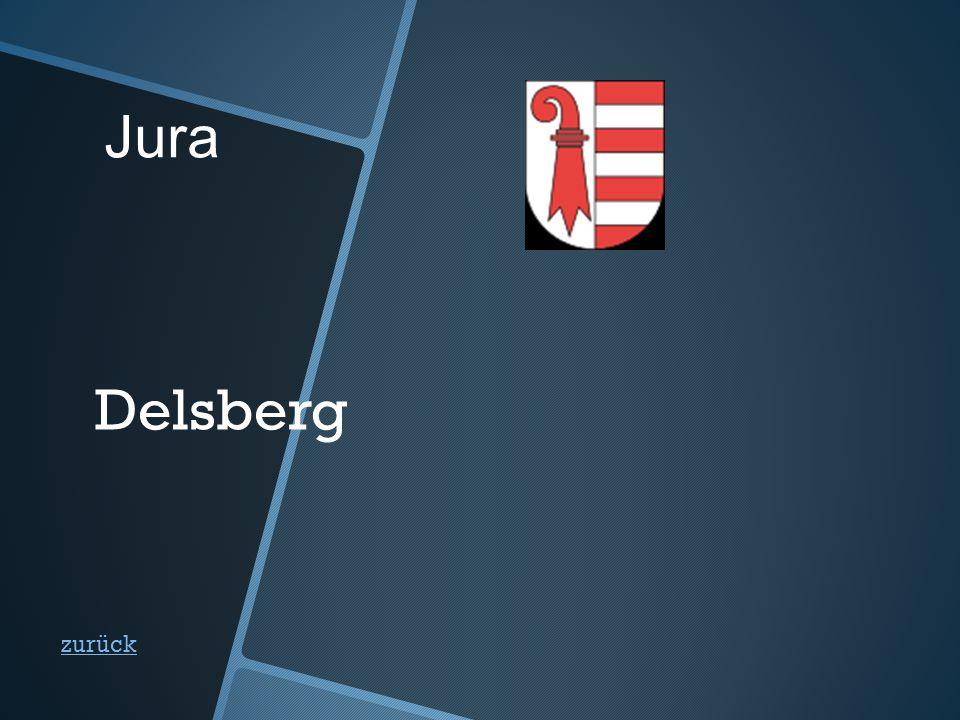 Jura zurück Delsberg
