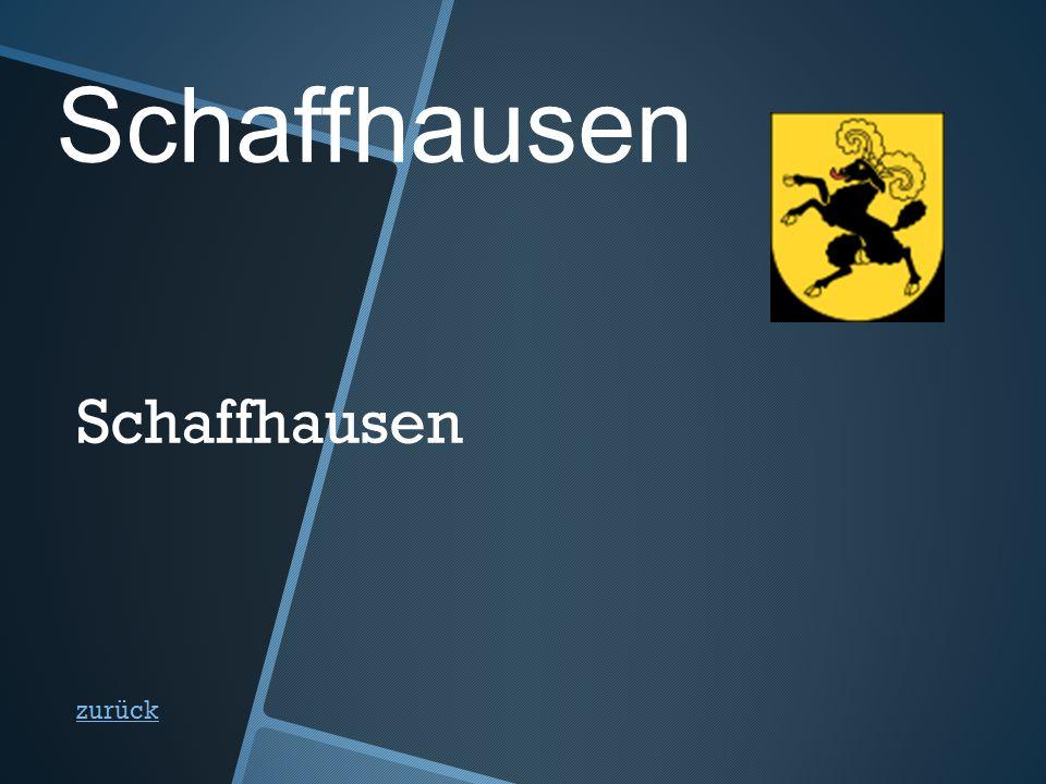 Schaffhausen zurück Schaffhausen