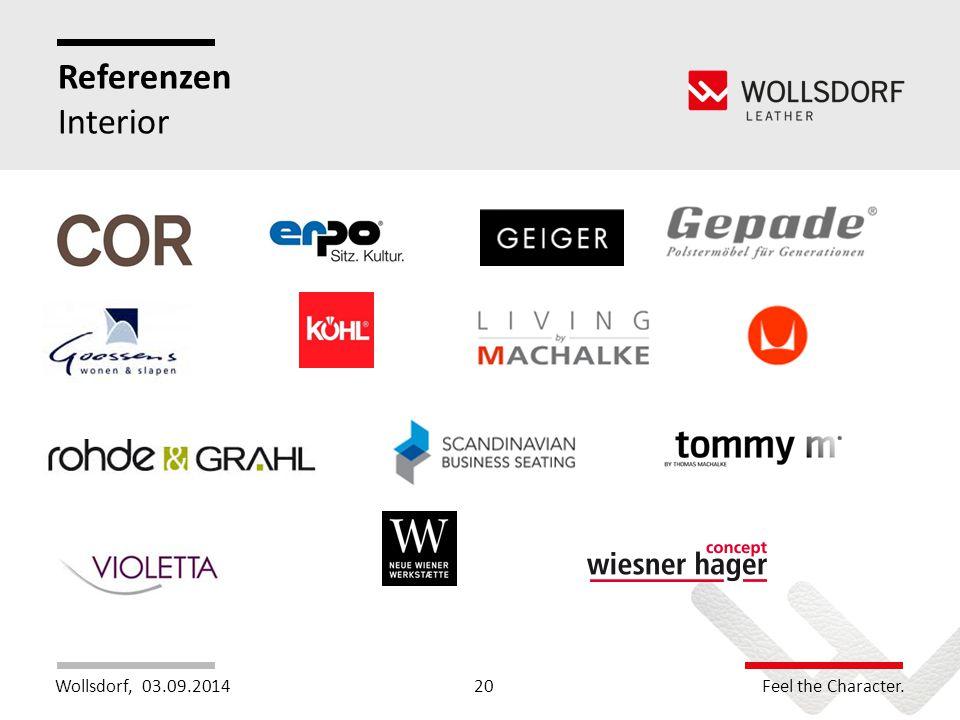 Wollsdorf,Feel the Character. Referenzen Interior 03.09.201420