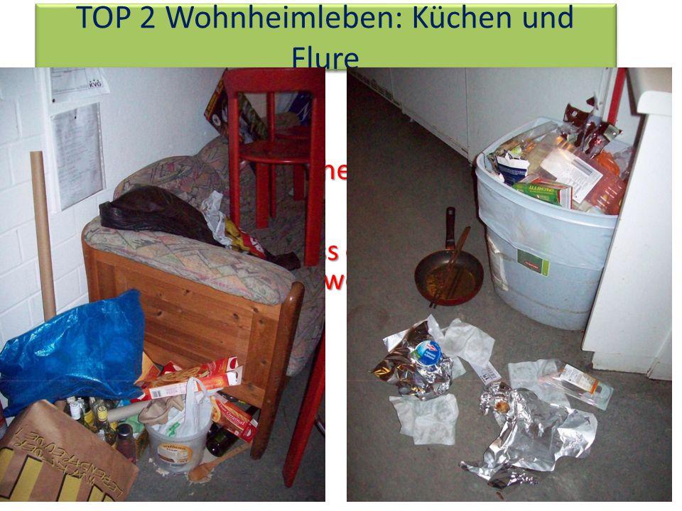 TOP 2 Wohnheimleben: Küchen und Flure Es ist unser Wohnheim und unser Zuhause Es ist unser Wohnheim und unser Zuhause Bitte sorgt dafür, dass es angenehm bleibt, hier zu wohnen.